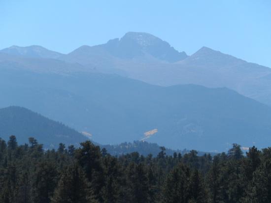 Long's Peak in the distance
